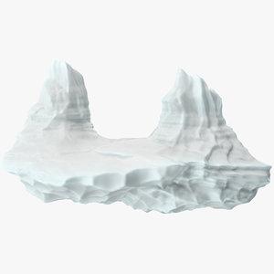 3D iceberg 7 model
