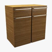 realistic cupboard 3D