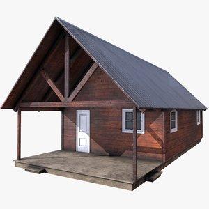 cabin old 3D model
