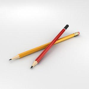 pencil office 3D