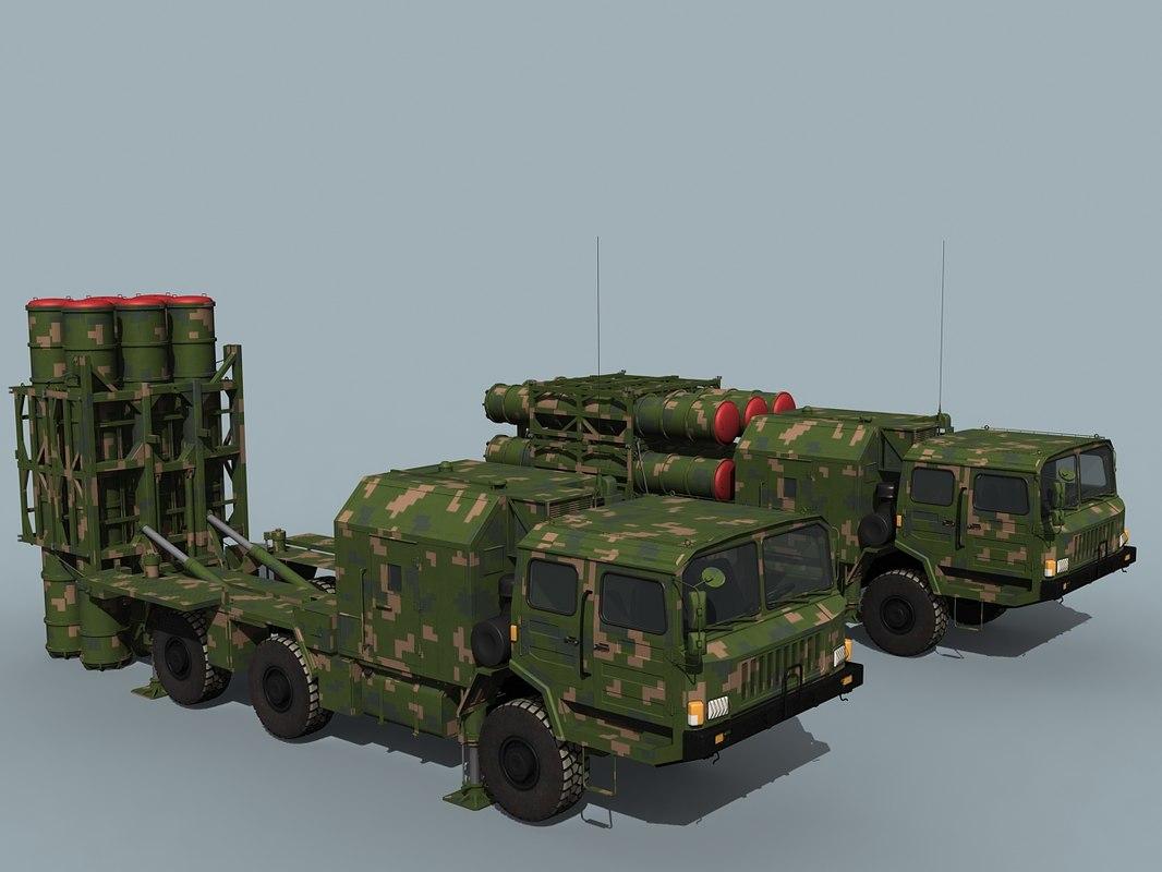 hq-16 hong qi 3D