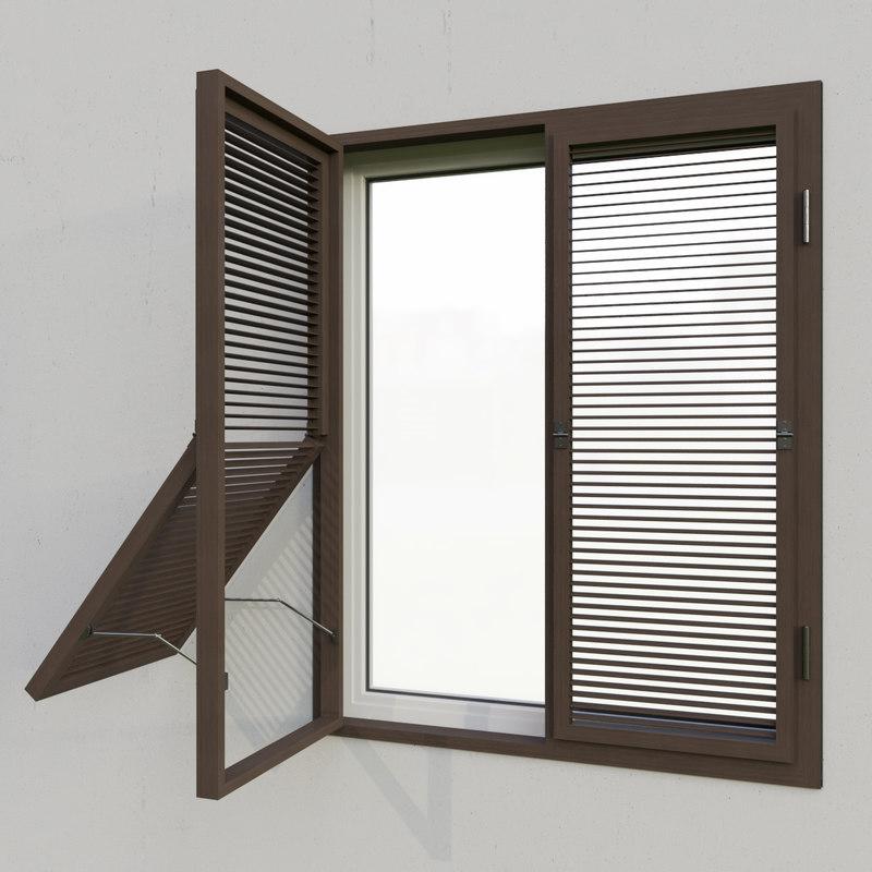 3D shutters 6 model - TurboSquid 1354437
