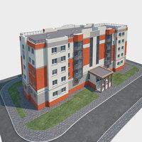 building landscape 3D