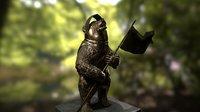 bear statue model