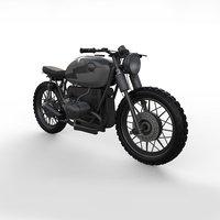 3D px motor bike model