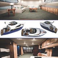 3D yacht cruiser
