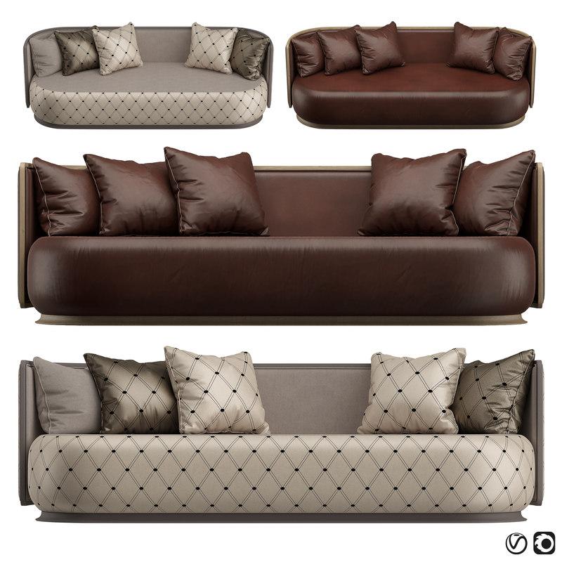 3D sofa 6101 kir royal
