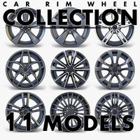 3D car rim wheel volume 2