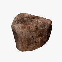 3D cracked rock model