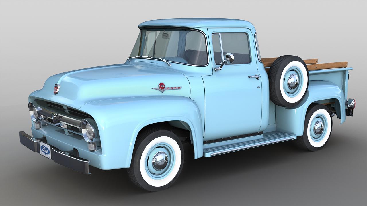 1956 f-100 big window model