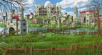 Fantasy Meadow Town