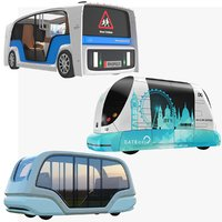 electric pods bus model