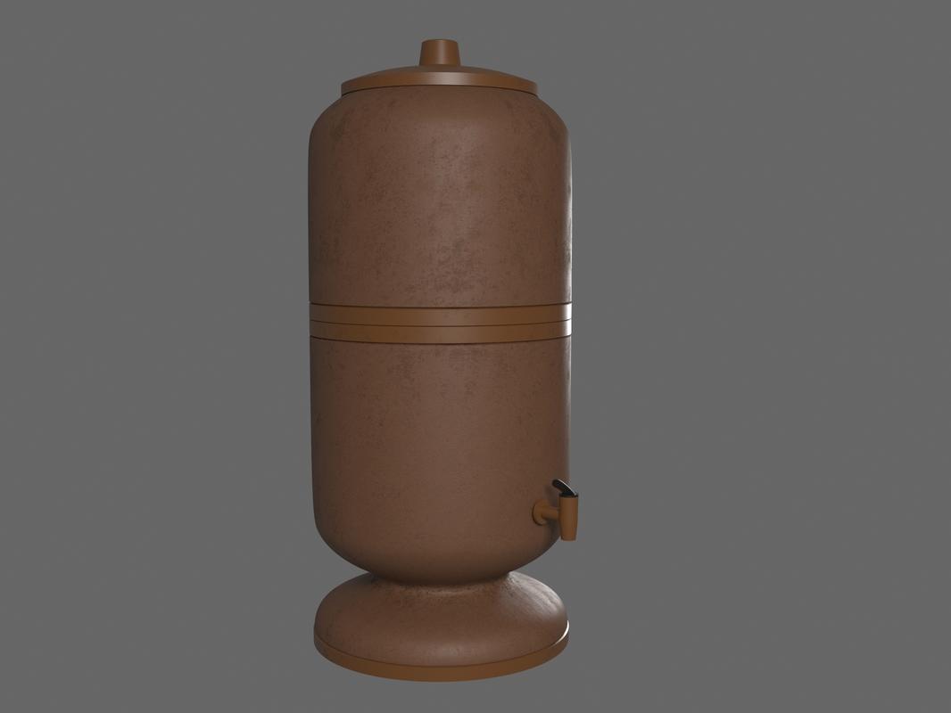 3D filter water