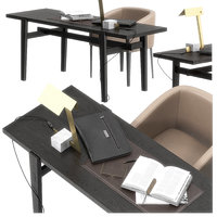 3D poliform home hotel desk
