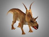 Diabloceratops + Low poly body