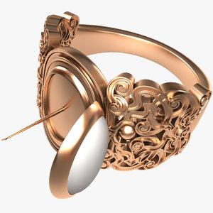 ring secret 3D model