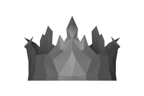3D stylish crown