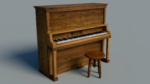 3D piano old