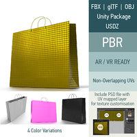 3D ar shopping bag 4 model