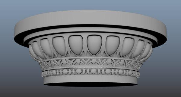 roman column 3D model