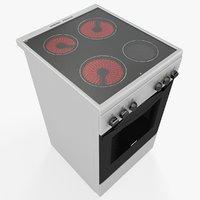 zanussi electric oven 3D model