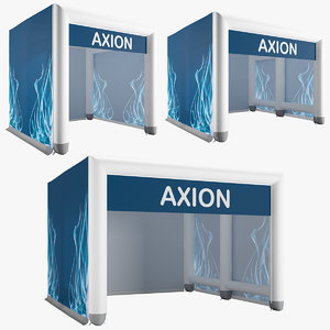 axion tents cube inflatable 3D model