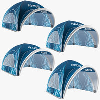 axion tents lite inflatable 3D model