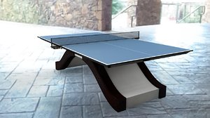 3D tennis table