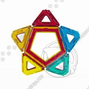 3D magformer star