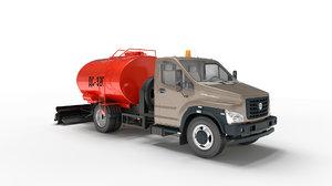 road oiler 3D model