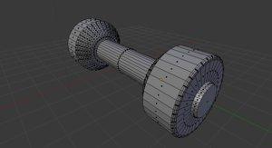 3D dumbell dumbe