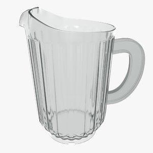 plastic jug 3D model
