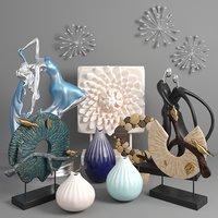 3D model sculpture statuette vase