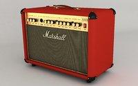 marshall as50d amplifier 3D model