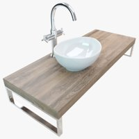 Bathroom Plate Washbasin 010