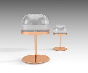 fontanaarte equatore table 3D model