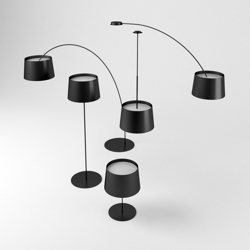 3D model foscarini twiggy lamp