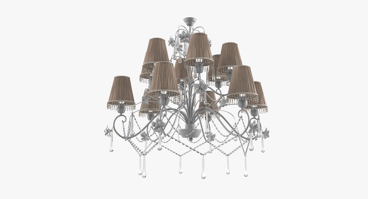 3D marina 1627 ch12 chandelier