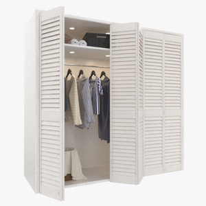 clothing closet model