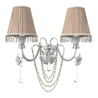 parlaume marina 1627a2birs wall lamp 3D