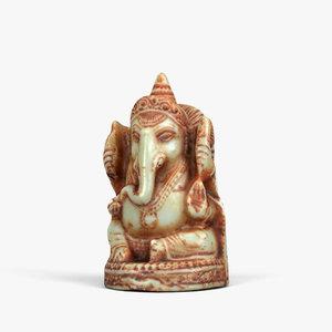 3D 01 ganesha sculpture model
