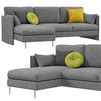 3D calligaris urban sofa