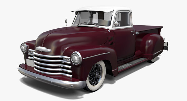 3D pickup hot rod