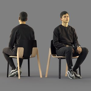 character guy human model