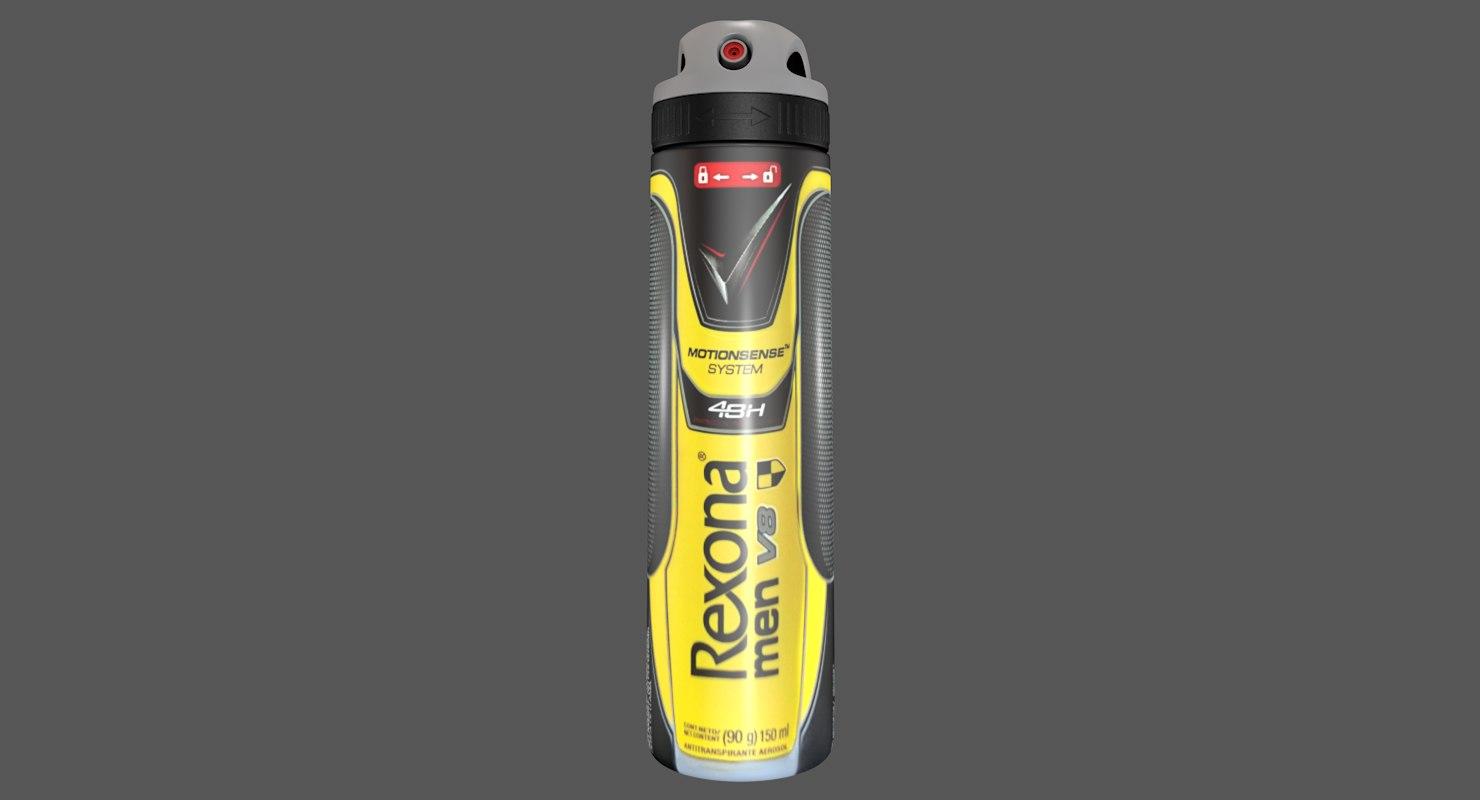 deodorant dry spray rexona model