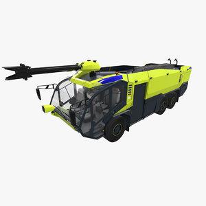 3D rosenbauer panther 6x6