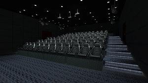 4d cinema 3D model