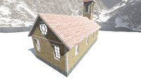 church building model