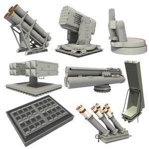 navy weapon sensor 1 3D
