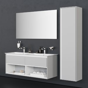 drawers connect air washbasin 3D model